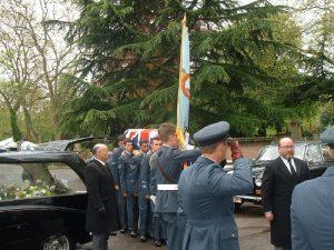 Norman McGrath's Funeral